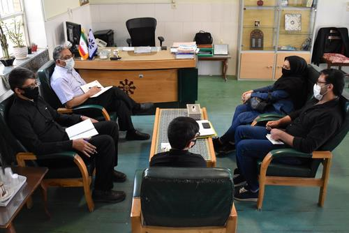 ثبت نام و جلسه توجیهی پذیرفته شدگان پایه هفتم در آموزشگاه شهیدصدوقی یزد
