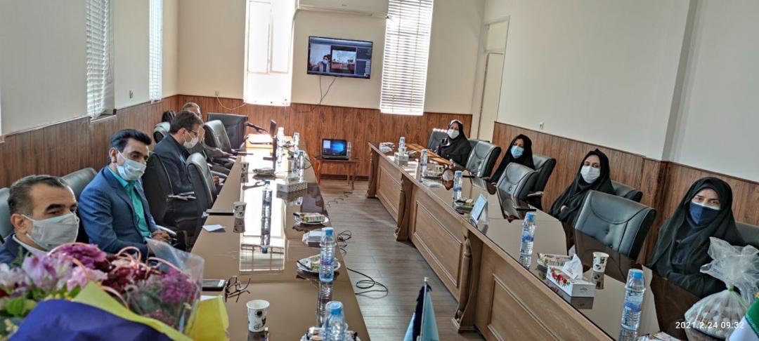 برگزاری جلسه رییس اداره سمپاد با مدیران مدارس