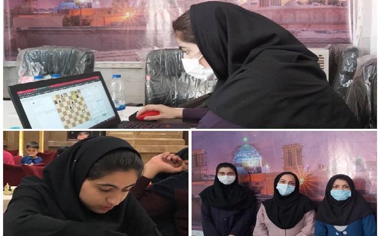 افتخاری دیگر برای جامعه شطرنج استان یزد توسط دانش آموز تیزهوشان رقم خورد